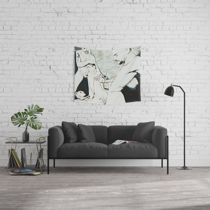 SEXERCISE Wall Tapestry
