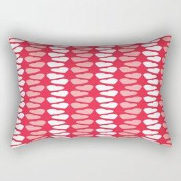 Valentines Day Hearts Pattern Love Rectangular Pillow