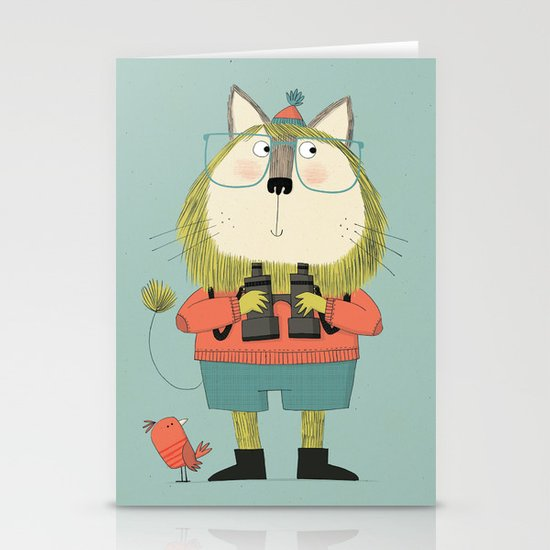 Twitcher Stationery Cards