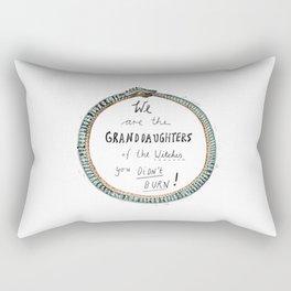 Ouroboros of the Witches Rectangular Pillow
