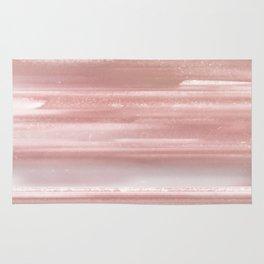 Geode Crystal Rose Gold Pink Rug