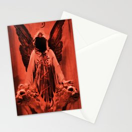 crimson sins Stationery Cards