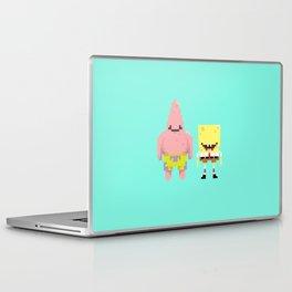 A Sponge & Starfish Laptop & iPad Skin