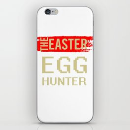 The Easter Egg Hunter iPhone Skin