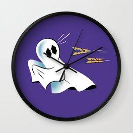 A Fearful Phantom (Purple) Wall Clock