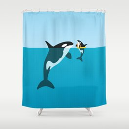 Orca Shower Curtain