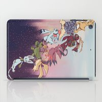 digimon iPad Cases featuring We're off! by Vermin Fu