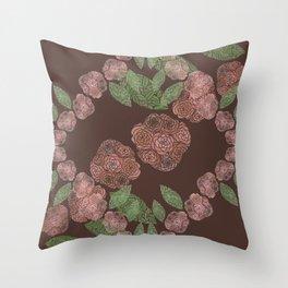INNER FLORAL Throw Pillow