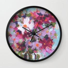 Cosmos Confection Wall Clock