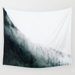 Foggy PNW Wall Tapestry