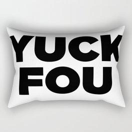 Yuck Fou Rectangular Pillow