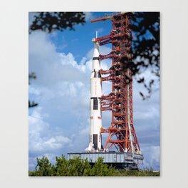 NASA Apollo 17 Spacecraft 1972 Canvas Print