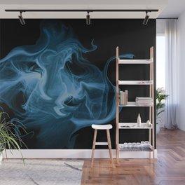 Blue Universe Fractal Art Wall Mural