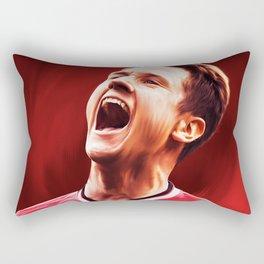 Ander Herrera MUFC Painting Rectangular Pillow