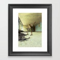 Chernobyl - лялька Framed Art Print