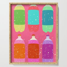 PSYCHEDELIC SODA Serving Tray