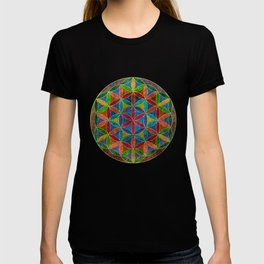 The Flower of Life (Sacred Geometry) 4 T-shirt