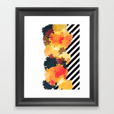 The Fall Patterns #3  Framed Art Print