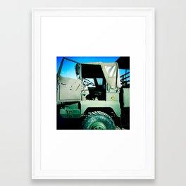 Cab Framed Art Print