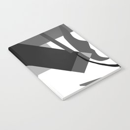 Matisse Inspired Black and White Collage Notebook