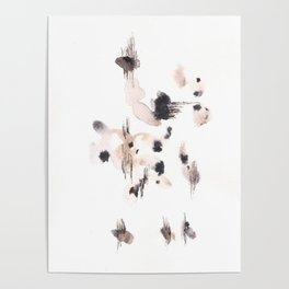 The Star - 151124  Abstract Watercolour Poster