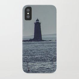Whaleback Light iPhone Case