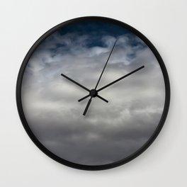clouds 05 Wall Clock