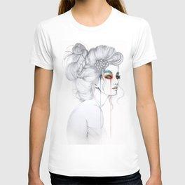 The Girl // Fashion Illustration T-shirt