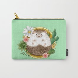 Hedgehog with cactus Carry-All Pouch