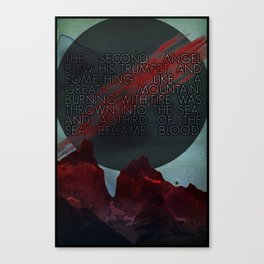 The Second Trumpet   3•2 Canvas Print