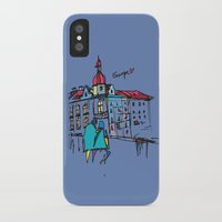 europe iPhone & iPod Cases featuring europe by PINT GRAPHICS