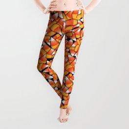 Candy Corn Pattern Leggings