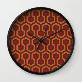 Rug Pattern Wall Clock