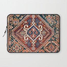 Qashqai Khorjin  Antique Fars Persian Bag Face Print Laptop Sleeve