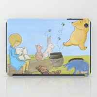 winnie the pooh iPad Cases featuring Winnie the Pooh by Marilyn Rose Ortega