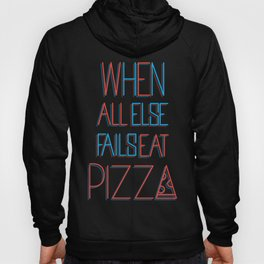 backup plan: pizza Hoody