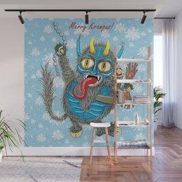 Merry Krampus! Wall Mural