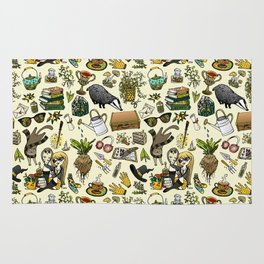Magical Herbology Rug