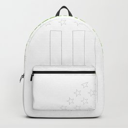 New Orleans Irish prints by Howdy Swag graphic Backpack