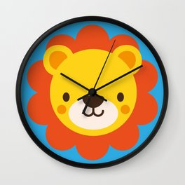 Lenny the Lion Wall Clock