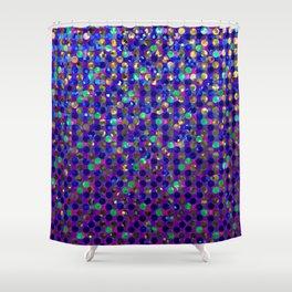 Polka Dot Sparkley Jewels G263 Shower Curtain
