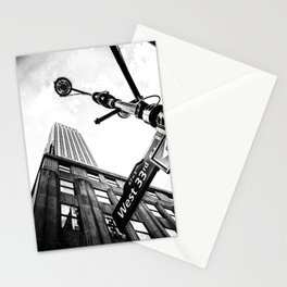 West 33rd street Stationery Cards