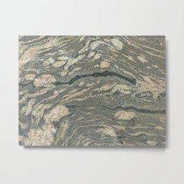 Migmatite Metal Print