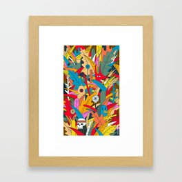 Jungle Party Framed Art Print