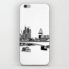 London Black and White iPhone & iPod Skin