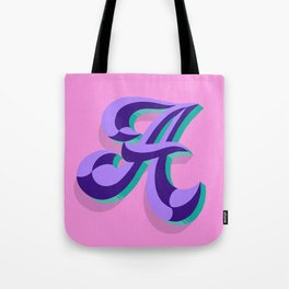 Letter A - 36 Days of Type Tote Bag