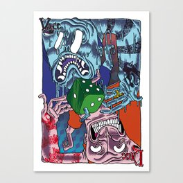 DICE VICE ! Canvas Print