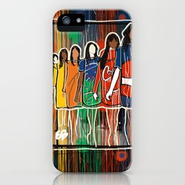 Line Up  iPhone Case