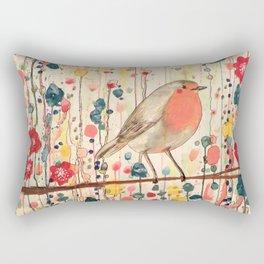 je ne suis pas qu'un oiseau Rectangular Pillow