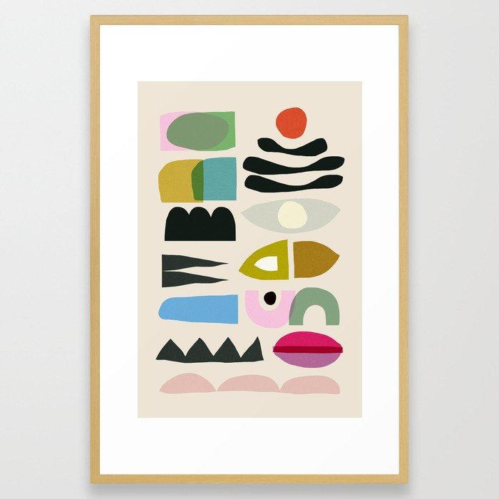 Nord 2 Framed Art Print